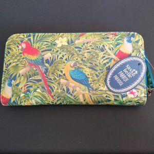 Sass & Belle Parrot Paradise Wallet Style Purse